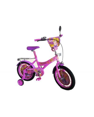 Велосипед 2-х колес 16' 171644 со звонком, зеркалом, руч.тормоз