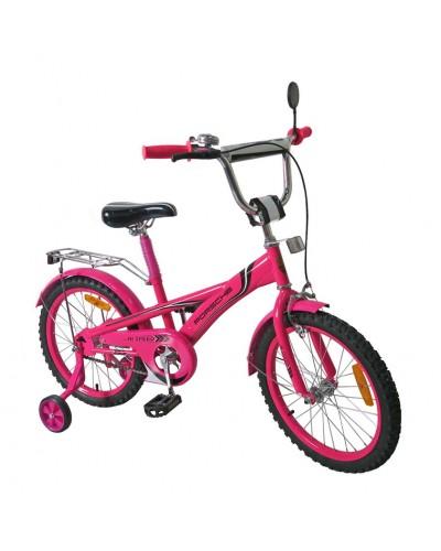 Велосипед 2-х колес 18' 171831 со звонком,зеркалом,руч.тормоз