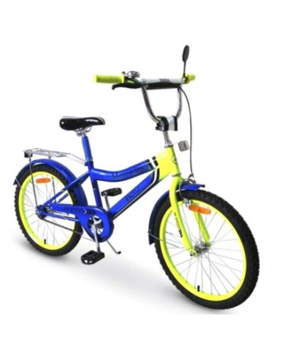Велосипед 2-х колес 18'' 171834 со звонком, зеркалом, руч.тормоз
