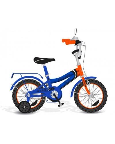 Велосипед 2-х колес 18' 171835 со звонком, зеркалом,руч.тормоз