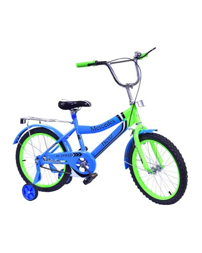 Велосипед 2-х колес 18'' 171836 со звонком, зеркалом, руч.тормоз
