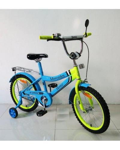Велосипед 2-х колес 18'' 171837 со звонком, зеркалом, руч.тормоз