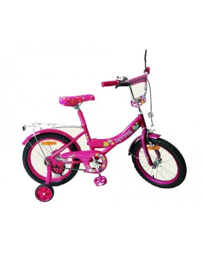 Велосипед 2-х колес 18' 171846 со звонком, зеркалом, руч.тормоз