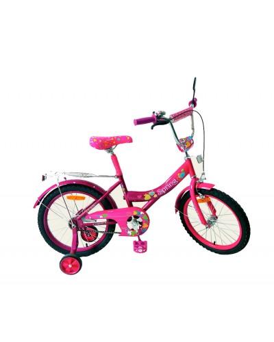 Велосипед 2-х колес 18' 171847 со звонком, зеркалом, руч.тормоз