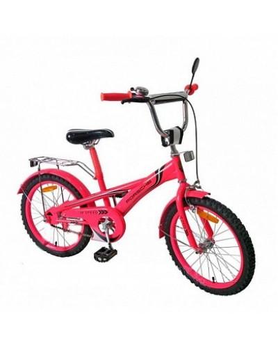 Велосипед 2-х колес 20' 172030 со звонком, зеркалом, руч.тормоз, без доп.колес