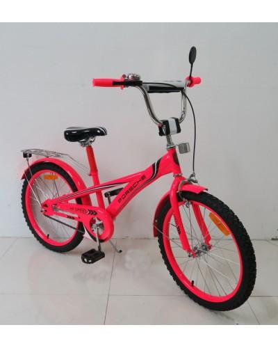 Велосипед 2-х колес 20' 172032 со звонком, зеркалом, руч.тормоз, без доп.колес