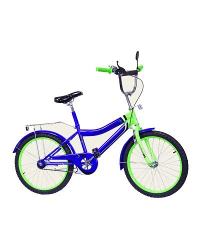 Велосипед 2-х колес 20'' 172033  со звонком, зеркалом, руч.тормоз,без доп.колес