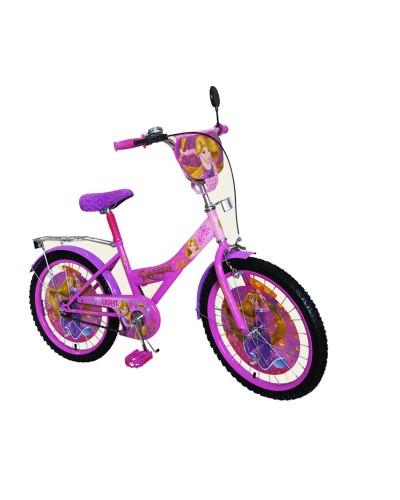 Велосипед 2-х колес 20'' 172041 со звонком, зеркалом, руч.тормоз, без доп.колес