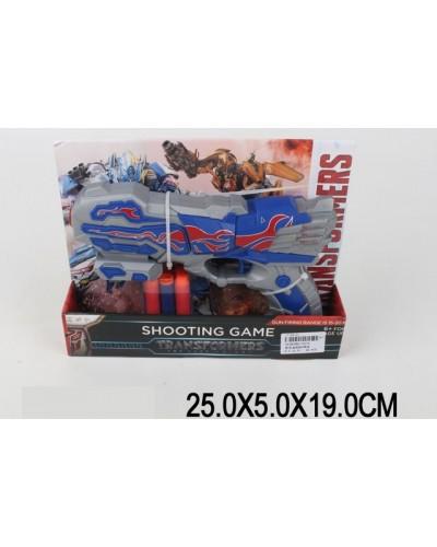 Бластер 3374 поролон.снаряды, в откр.коробке 25*5*19см