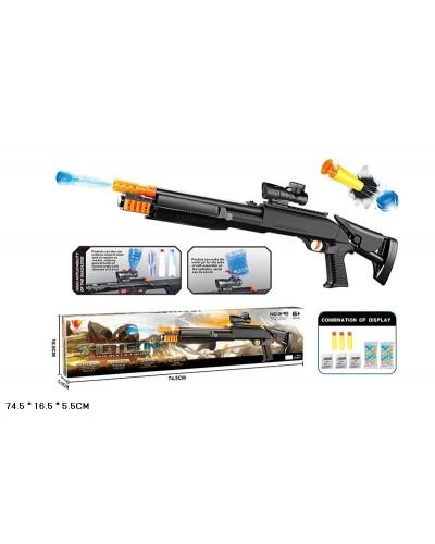 Автомат G140-B с пулями, в коробке 74,5*16,5*5,5см