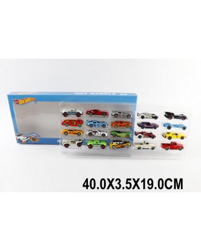 Машина металл  1605-1 М1:64, 20шт в наборе, в коробке 40*3,5*19см
