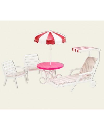 """Мебель """"Gloria"""" 3920  для отдыха на природе, в кор.20*7*16см"""