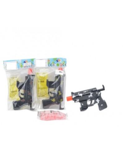 Автомат 696-5 с гелиев пулями, 2 вида, в пакете 15*10см