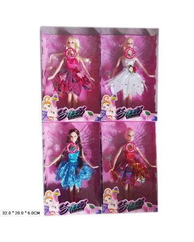 """Кукла """"Ангел"""" 632B  4 вида микс, в кор 29*19*4 см"""