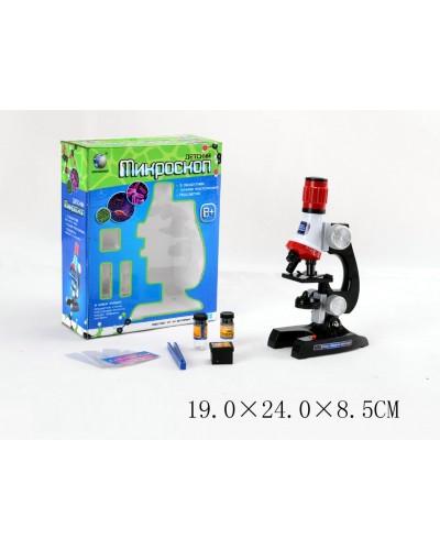 Микроскоп C2121 батар., фокусировка, аксесс., в коробке 19*24*8,5см