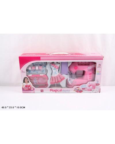 Швейная машина 754ABC  батар, с набором для шитья, в кор. 48*10*23см