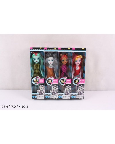 "Кукла ""MH"" Q24A-1/2/3/4 4 вида, в кор. 7*5*26 см"