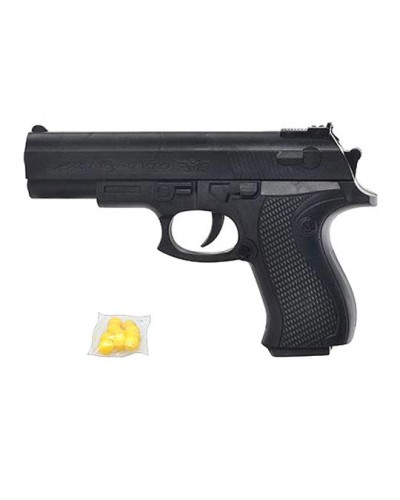 Пистолет 729  пульки в пакете 17*12см