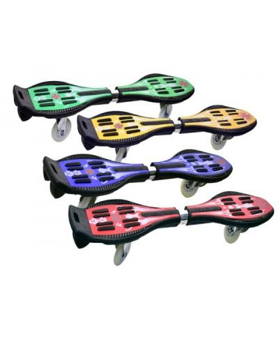 """Скейт SC17075  """"Рипстик"""" 2 колеса PU, 76,5*19 см 4 цвета"""