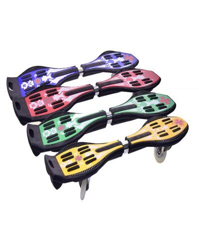 """Скейт SC17076  """"Рипстик"""" 2 колеса PU, 87*23*13 см 4 цвета"""