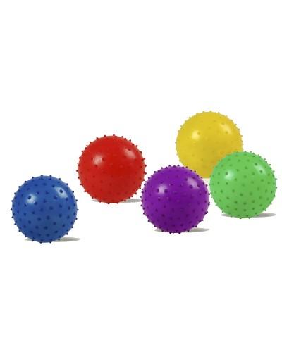 Мяч B15756 с шипами, резиновый 20см 90гр