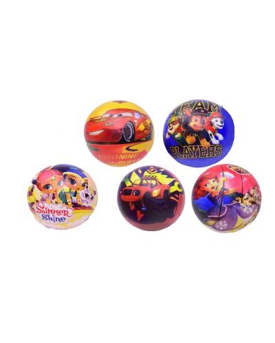 Мяч резиновый TT17019 9'' 60 грамм 5 видов
