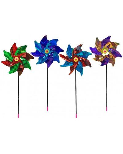 Ветрячок V0502  микс цветов в пакете 23 см