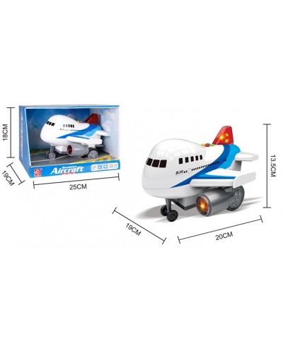 Самолет батар.RJ3318A  свет, звук, в коробке 25*18*19см