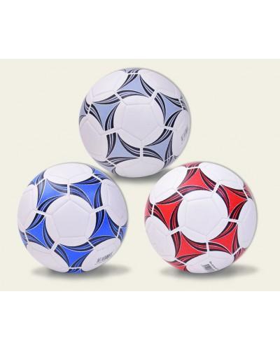 Мяч футбол M1738  320 грамм, PVC, 3 цвета
