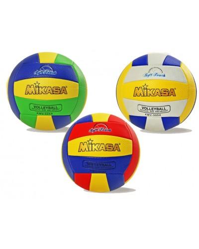 Мяч волейбол VB0423  PU 280 грамм, 3 цвета