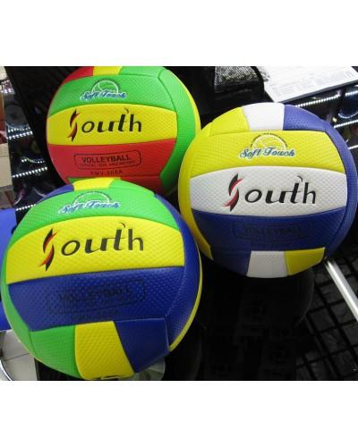 Мяч волейбол CL1833 PU, 290г, 3 цвета