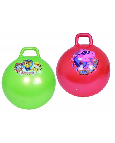 Мяч для фитнеса PX806  Гири 65 см 800 грамм