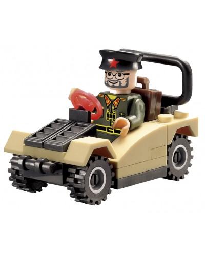 """Конструктор """"Brick"""" 824 """"Машина"""" 33дет., 6+ лет,в кор. 7*4,5*10см"""