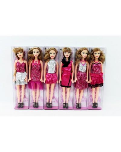 "Кукла типа ""Барби"" 0716 6 видов, в кор.30*7*4см"