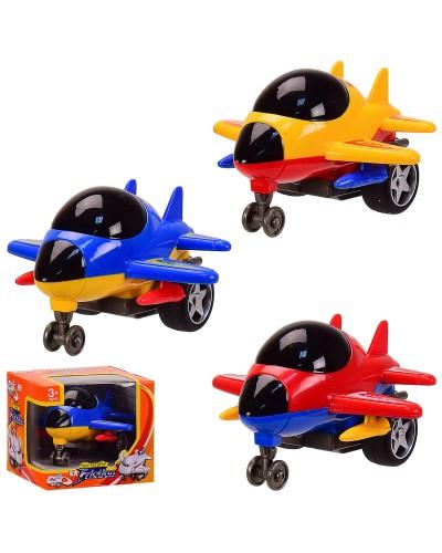 Самолет F155 3 вида, в коробке 11*10*6см