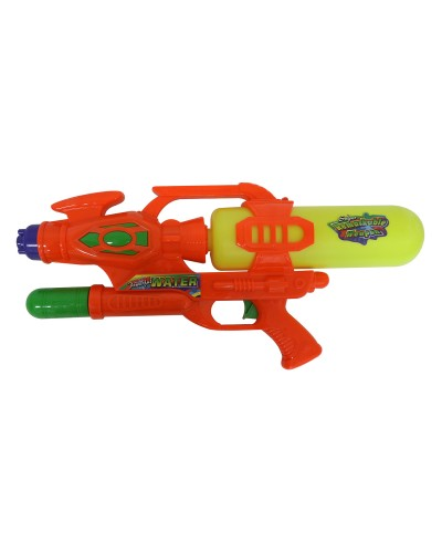 Водный пистолет 2823-12 с насосом, в пакете 33см