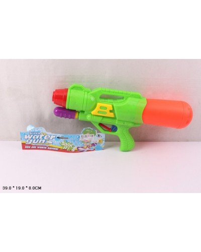 Водный пистолет 5788  с насосом, в пакете 39*19*8см
