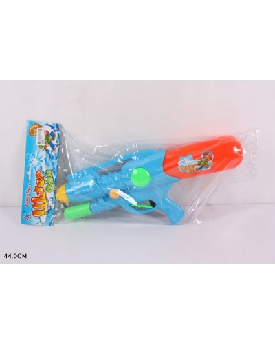 Водный пистолет 168-68  с насосом, в пакете 44см