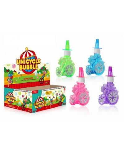 Мыльные пузыри SSP825993 (24шт)цирк, 4 цвета, в боксе