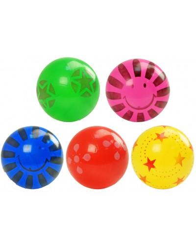 Мяч резиновый C12759 ассорти, 25см 60г