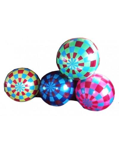 """Мяч резиновый CL12-029  """"Кубик"""" ассорти, 9"""" 60g"""