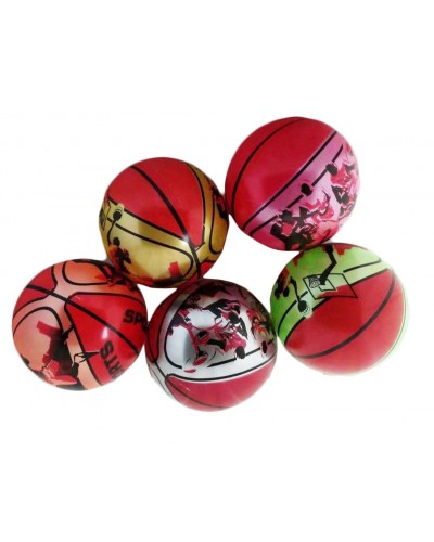 "Мяч резиновый CL12-017 ""Баскетбол"" ассорти, 9"" 60g"