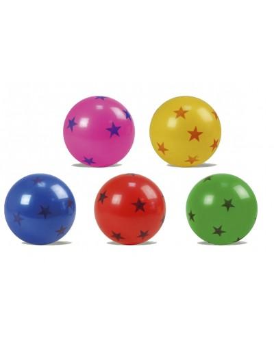 "Мяч резин. E03119 ассорти, 9"" 80g"