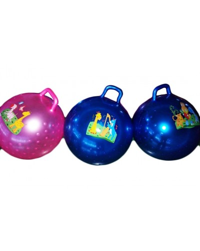 Мяч для фитнеса CL12-008  гири MIX, 45 сm 380 грамм