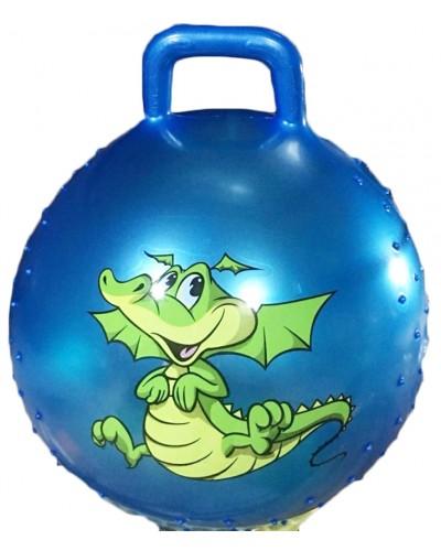 "Мяч для фитнеса CL12-011 ""Дракоша"" гири MIX, 45 сm 380 грамм"