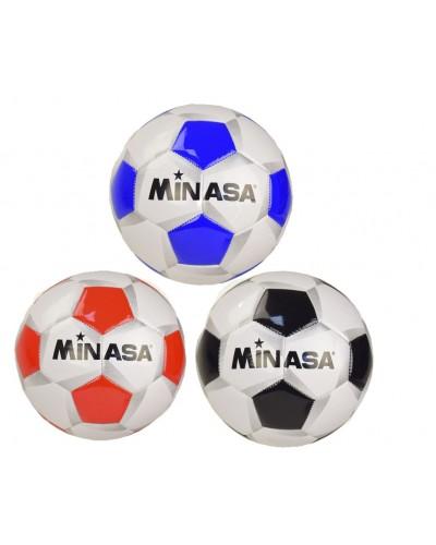 Мяч футбол CE-102533  320 грамм, 2 цвета, PVC