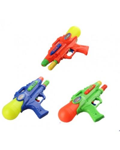 Водный пистолет 508  с насосом, в пакете 24см