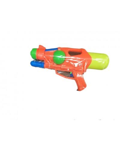 Водный пистолет LY802 с насосом 30 см, 2 цвета, в пакете