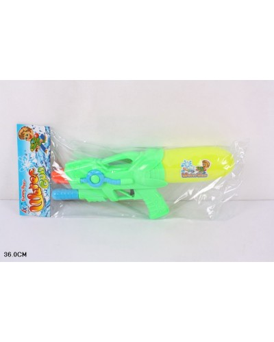 Водный пистолет 168-88 с насосом, в пакете 36см