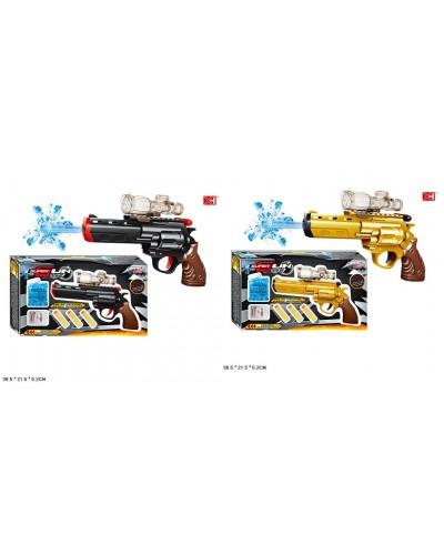 Пистолет XH-088 2 цвета, с пулями, в коробке 38,5*21,5*5,2см